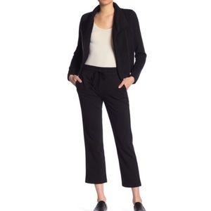 Vince Black Cropped Lounge Sweatpants Size Small